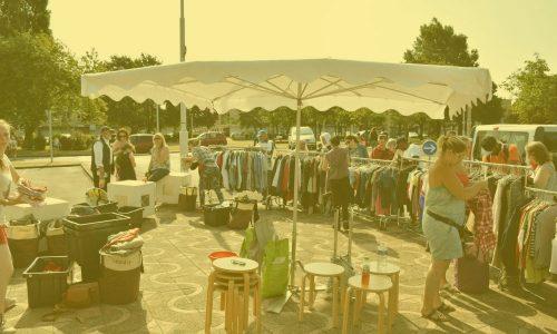 Photographie de la fête de quartier organisée par Villenvie et l'association caritative labellisée Atelier Chantier d'Insertion ACL PROXI POL de Saint-Pol-sur-Mer